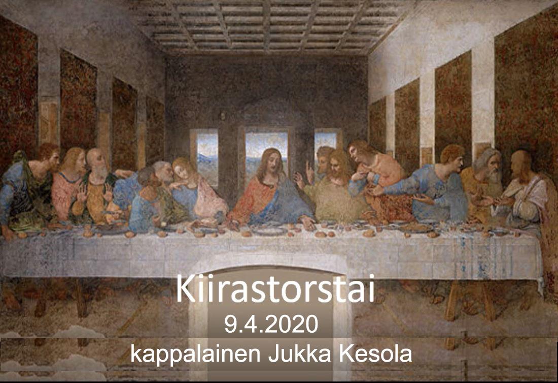 Kiirastorstai 2020 - Jukka
