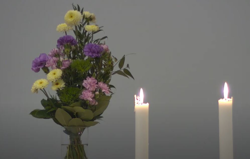 Messu Pyhän Kolminaisuuden kirkossa, Ylivieskassa 25.4.2021